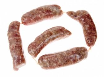 The bug has been identified in a pork sausage, confirming the spread of the infection from British farms.